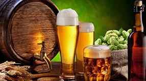 Пиво в бочках